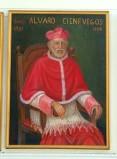 Bottega siciliana sec. XX, Ritratto del cardinale Alvaro Cienfuegos