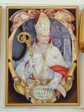 Bottega siciliana sec. XX, Ritratto del vescovo Pietro Galletti
