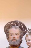 Bottega siciliana sec. XVIII, Aureola della statua di S. Giuseppe