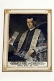 Bottega siciliana sec. XIX, Ritratto del sacerdote Gaspare Bufali