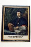 Bottega siciliana sec. XVIII, Ritratto del parroco Domenico Sambataro