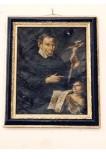 Bottega siciliana sec. XVIII, Ritratto di S. Vincenzo dè Paoli