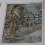 Agliata A. (1950), Sant'Antonio Abate accoglie i discepoli