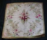 Manifattura napoletana sec. XVIII, Velo di calice broccato in argento