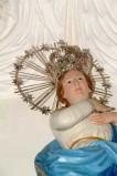 Bottega siciliana sec. XIX, Corona di stelle della statua della Madonna