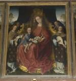Ambito fiammingo sec. XV, La Madonna degli Angeli