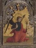 Ambito italiano sec. XV, Angelo annunciante