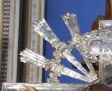 Manif. italiana secc. XVII-XVIII, Raggiera di croce 1/4