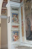 Ambito umbro sec. XVIII, Riquadri ad affresco con due angeli