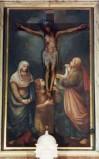 Ambito umbro sec. XVII, Astanti alla croce