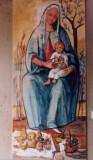 Carena G. (1982-1985), Madonna con Bambino con cesto di frutta