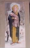 Carena G. (1982-1985), Madonna con Bambino con neve