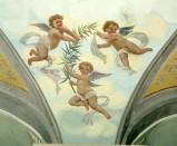 Ambito umbro sec. XX, Angeli con palma