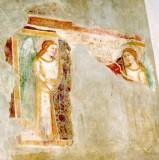 Ambito italiano sec. XIV, Angeli reggicortina