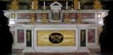 Leonardi Pietro (ca. 1824), Altare maggiore in marmo policromo