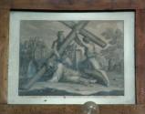 Ambito romano sec. XIX, Gesù Cristo cade la seconda volta