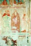 Ambito umbro sec. XIV, Sant' Antonio Abate tra due Santi