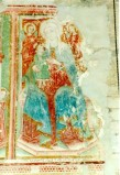 Ambito umbro sec. XV, Madonna col Bambino e due angeli