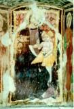 Maestro di Sant'Egidio sec. XIV, Madonna in trono col Bambino