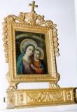 Bottega italiana sec. XVIII, Cornice con basamento