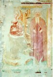 Ambito umbro sec. XIV, Madonna e Sant'Antonio Abate