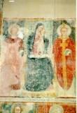 Ambito umbro sec. XV, Madonna in trono col Bambin e Santi