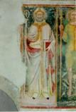 Ambito umbro sec. XV, Santo Vescovo con libro e pastorale