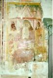 Maestro di Sant'Egidio sec. XIV, Sant'Antonio Abate in cattedra