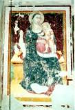 Maestro di Sant'Egidio sec. XIV, Madonna in trono con Bambino