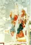 Ambito umbro sec. XV, Madonna in trono col Bambino
