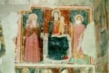 Ambito umbro sec. XV, Madonna col Bambino tra Sant'Antonio e San Giovanni