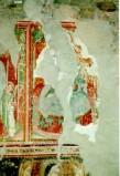 Ambito umbro sec. XV, Frammento di Madonna in trono col Bambino