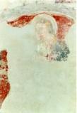 Ambito umbro sec. XV, Affresco frammentaerio con Madonna col Bambino