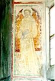 Ambito umbro sec. XV, Affresco rappresentante Sant'Antonio da Padova