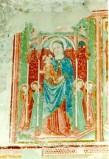 Ambito umbro sec. XV, Madonna di Loreto e quattro angeli