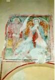 Ambito umbro sec. XV, Madonna col Bambino e San Sebastiano