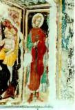 Ambito umbro sec. XV, Santo Cavaliere con spada