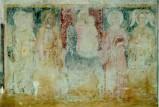 Ambito umbro sec. XV, Madonna in trono col Bambino tra quattro santi