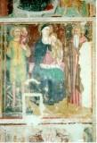 Maestro di Sant'Egidio sec. XIV, Madonna col Bambino e Santi