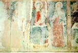 Ambito umbro sec. XV, Madonna col Bambino tra i santi Giovanni e Antonio