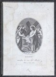 Agricola Luigi - Rados Luigi sec. XIX, Gesù incontra la Madonna e le pie donne