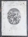 Agricola Luigi - Rados Luigi sec. XIX, Gesù Cristo aiutato dal cireneo
