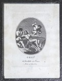 Agricola Luigi - Rados Luigi sec. XIX, Gesù Cristo inchiodato alla croce