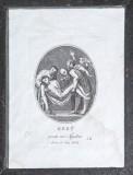 Agricola Luigi - Rados Luigi sec. XIX, Gesù Cristo deposto nel sepolcro
