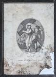 Agricola Luigi - Rados Luigi sec. XIX, Gesù Cristo caricato della croce