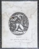 Agricola Luigi - Rados Luigi sec. XIX, Gesù Cristo cade la prima volta