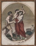 Agricola Luigi - D'Angelo Raffaele sec. XIX, Gesù spogliato