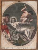 Agricola Luigi - D'Angelo Raffaele sec. XIX, Gesù inchiodato alla croce