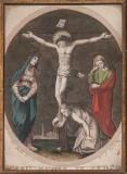 Agricola Luigi - D'Angelo Raffaele sec. XIX, Gesù morto in croce