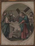 Agricola Luigi - D'Angelo Raffaele sec. XIX, Gesù incontra la Madonna